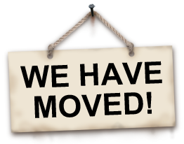 We have moved.