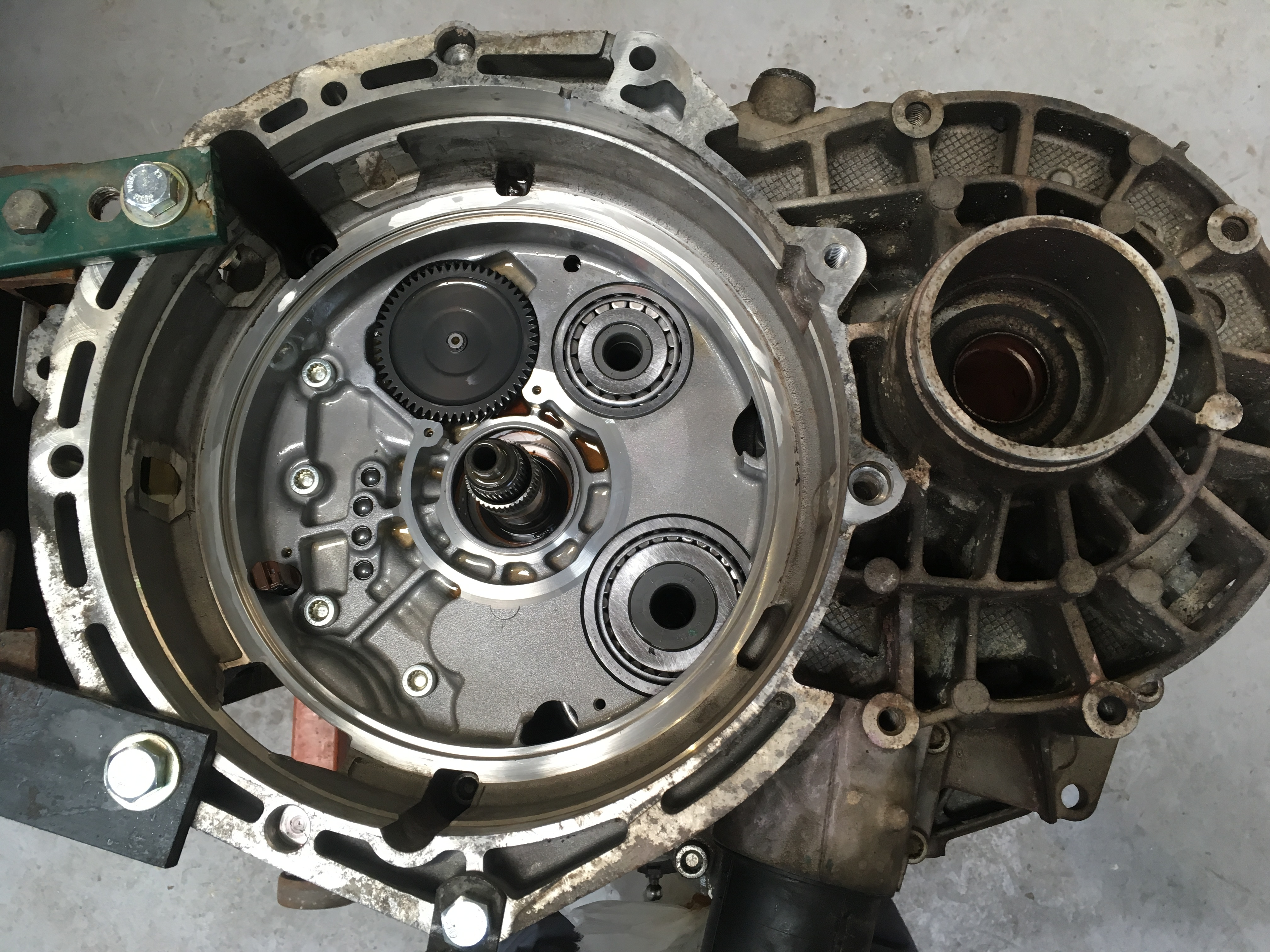 VW Audi DSG gearbox repair Brecon Hereford