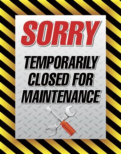 Thursday 18th April 2019 – Workshop closed for maintenance.